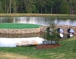 Putting Green In Backyard by Lanmark Designs Backyard Golf Green Design