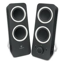 logitech multimedia speakers z200 noir enceinte pc logitech sur
