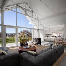 Living Room With High Ceiling by Farmhouse Interior Living Room Farmhouse With High Ceiling High