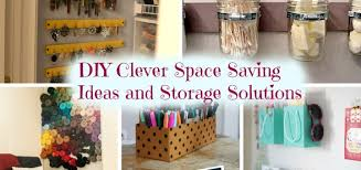 DIY Clever Space Saving Ideas And Storage Solutions - Diy bedroom storage ideas