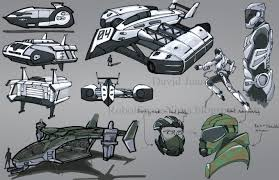 future military vehicles robot space ninja concept vehicles shuttles and military chopper