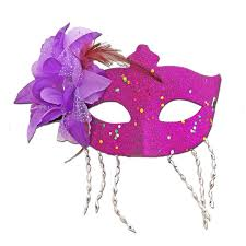 purple masquerade mask buy purple masquerade mask large flower and tassels at simply
