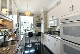 narrow kitchen ideas narrow kitchen designs bombilo info