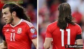 gareth bale hairstyle gareth bale s hair is on another level soccer memes goal91