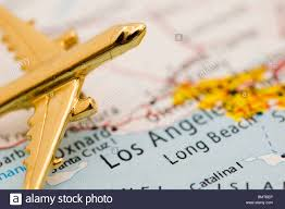 Map Los Angeles Ca by Plane Over Los Angeles California Map Stock Photo Royalty Free
