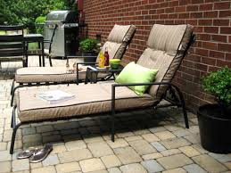 Lounge Chairs For Patio Our 319 Patio Makeover Complete With Loungers A Pit
