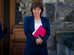 Christy Clark Cabinet Bc Liberal Leader Christy Clark Resigns Following Defeat To Ndp
