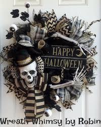 halloween wreath things i made pinterest halloween wreaths