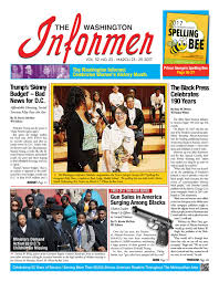 the washington informer march 23 2017 by the washington