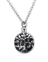 urn necklaces zoey jewelry tree of cremation urn jewelry necklace pendant
