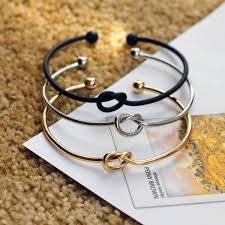 gold love knot bracelet images Casting love knot bangle bracelet pretty little owls jpg
