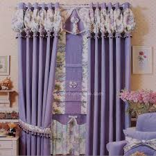 lilac bedroom curtains lilac chenille thick fabric blackout curtain for kids bedroom