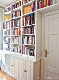 decorations fancy minimalist modern bookshelf designs in wall