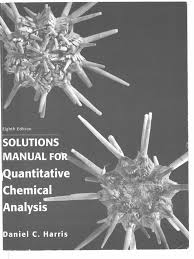 solutions manual for quantitative chemical analysis 1