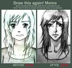 Crying Girl Meme - crying manga girl draw this again meme by timii95 on deviantart
