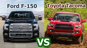 2018 toyota tacoma vs 2018 ford f 150 raptor super pickup