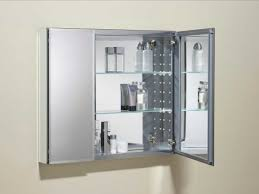 Bathroom Mirror With Storage Bathroom Mirror With Storage With Aluminum Frame Home Interior
