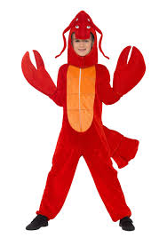 child s lobster costume