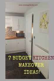 budget kitchen makeover ideas 7 budget kitchen makeover ideas one wage family