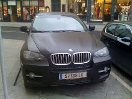 matte bmw bmw x6 in matte color is this the new