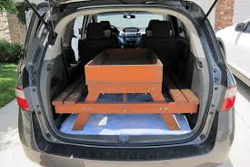 honda crv table hauling the sandbox 2011 honda odyssey limited term road test