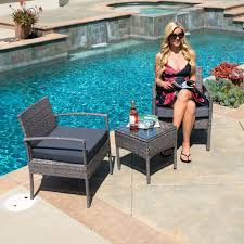 Patio Pool Furniture Sets by Enjoy Your Summer With Outdoor Wicker Furniture 50 Idea Photos