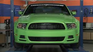 Mustang Black And Green Mustang Modern Billet Black And Polished Retro Grille 2013 Gt