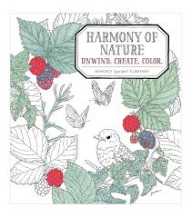 harmony of nature coloring book joann