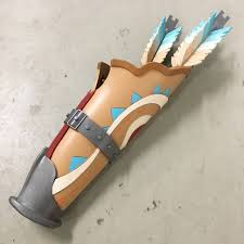 link breath of the wild quiver cosplay convention costume