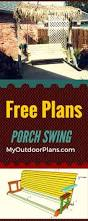 Wooden Glider Swing Plans by Free Porch Swing Plans Learn How To Build A Porch Swing Set With
