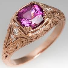 pink gemstones rings images Gemstone and cocktail rings eragem jpg