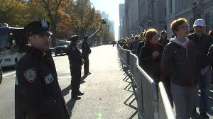 heightened security along new york city s thanksgiving day parade