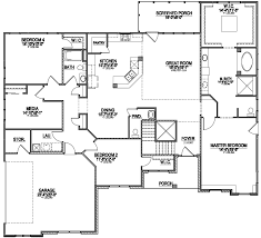 open home floor plans wheelchair accessible multigenerational house plan raleigh