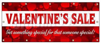valentines sale 48 x120 s day sale banner sign sale