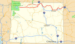 Map Of Yellowstone National Park U S Route 14 In Wyoming Wikipedia
