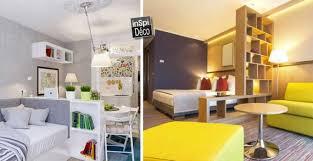 meubler une chambre salon et chambre dans la même pièce 20 idées pour aménager