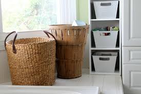 organization bins makeover dollar store bins for pretty organization the country