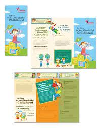 tri fold school brochure template child development school tri fold brochure template ghjghg