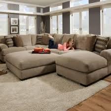 furniture elegant oversized ottoman for your living room design