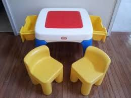 duplo table with chairs girls pink little tikes tykes child s toy vanity desk beaty salon w