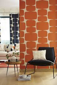 68 best orange interiors images on pinterest living room ideas