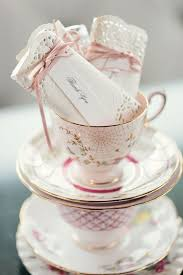 tea cup favors diy tea party favors doily wrapped candy bars