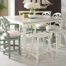 casual high low dining table by fine furniture design wolf and
