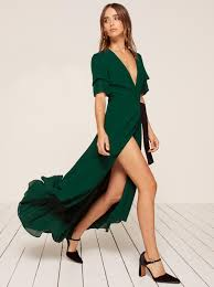 Green Dresses For Weddings Clothes Reformation