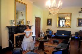 antebellum home interiors room with no view oak alley plantation an iconic view part three