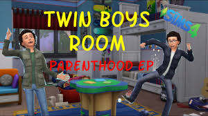 twin boys bedroom parenthood ep the sims 4 youtube