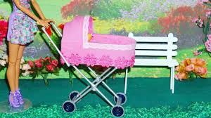 How To Make Doll Kitchen How To Make A Baby Stroller 2 For Doll Monster High Barbie Etc