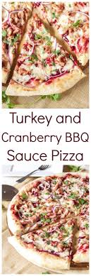turkey and cranberry bbq sauce pizza recipe runner