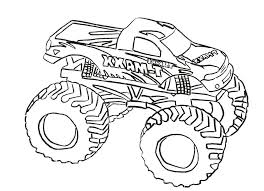 articles with monster truck coloring pages online tag truck
