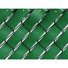 pexco 250 ft fence weave roll in green fw250 green the home depot